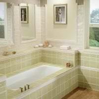 яркий дизайн ванной комнаты с душем в ярких тонах фото
