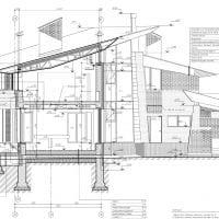 красивый интерьер загородного дома в архитектурном стиле картинка