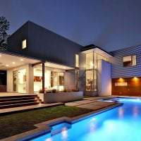 красивый декор дома в архитектурном стиле фото