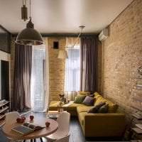 красивый дизайн квартиры в черном цвете фото
