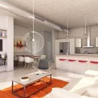 отделка потолка с бетоном в комнате картинка