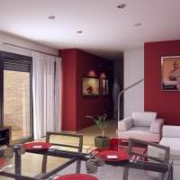 шикарный цвет марсала в дизайне спальни фото