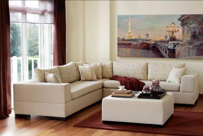 шикарный цвет марсала в дизайне коридора