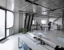 шикарный стиль комнаты в стиле хай тек фото