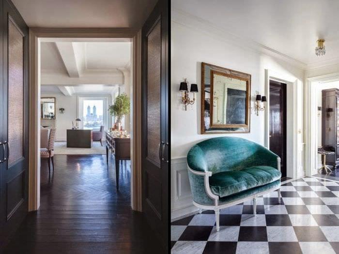 красивый интерьер дома в стиле арт деко