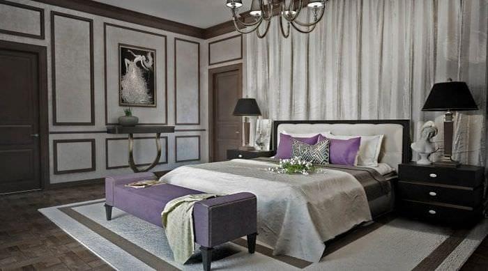 шикарный дизайн комнаты в стиле деко арт