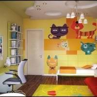 красивый интерьер комнаты в различных цветах картинка