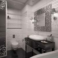 шикарный интерьер дома в стиле деко арт фото