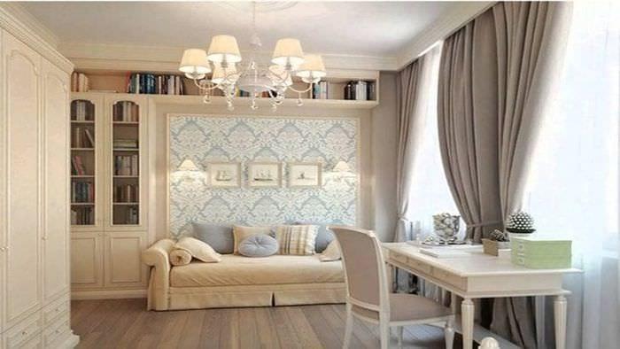 яркий дизайн комнаты