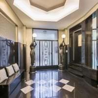 яркий дизайн квартиры в стиле деко арт картинка