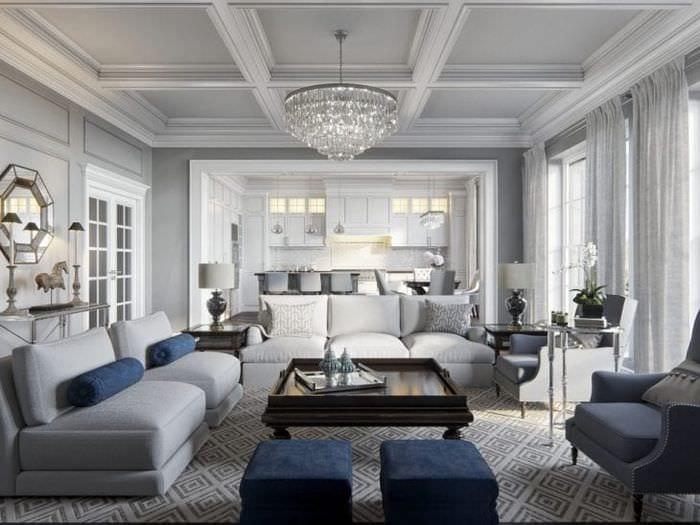 красивый дизайн дома в американском стиле