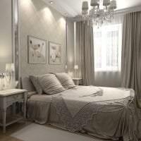 яркий дизайн спальни в различных тонах фото