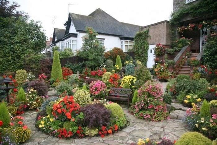 Дизайн садовый участок своими руками фото 90