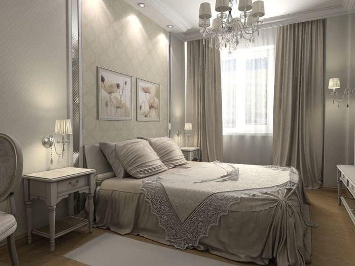 яркий дизайн спальни в различных цветах