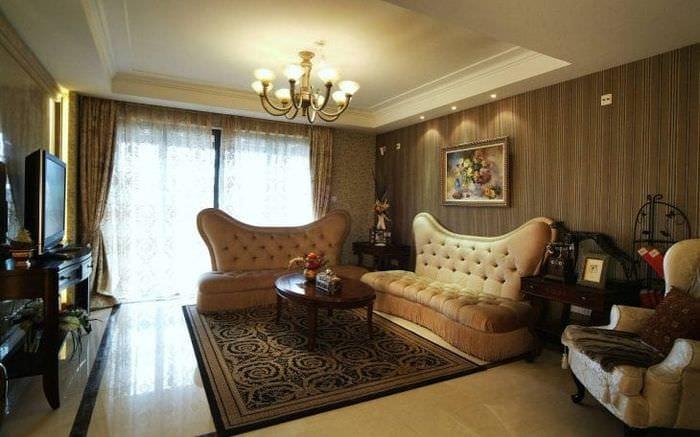 яркий стиль комнаты
