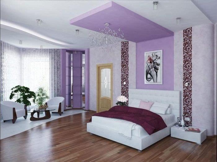 красивый стиль коридора в различных цветах
