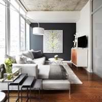 отделка потолка с раствором бетона в комнате картинка