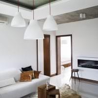 стиль потолка с бетоном в квартире фото