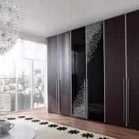 стиль углового шкафа в коридоре из мдф фото