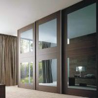 стиль углового шкафа в гостиной из дерева картинка