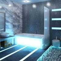 светлый интерьер квартиры в стиле хай тек фото