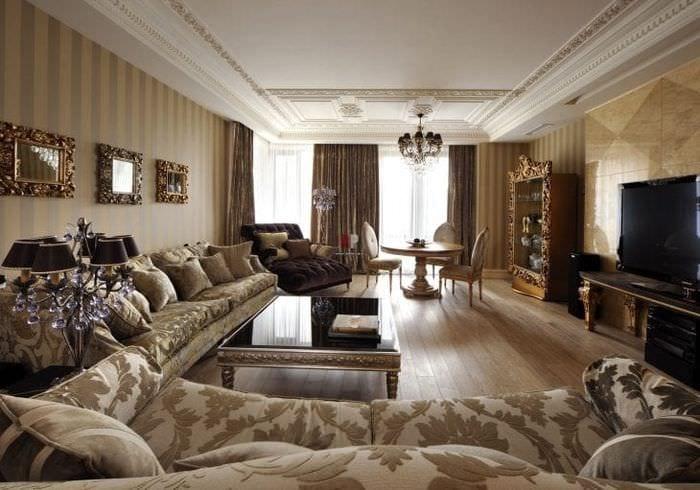 интересный стиль спальни