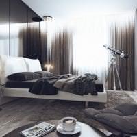 стильный интерьер гостиной в стиле хай тек картинка