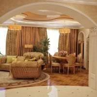 красивая арка в стиле гостиной фото