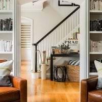светлая арка в дизайне квартиры картинка