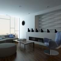 яркая бамбуковая 3д панель в комнате фото