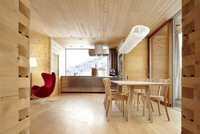 Отделка квартиры вагонкой дизайн