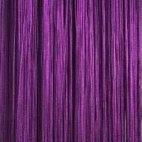 яркие шторы нити в стиле прихожей картинка