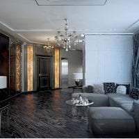 яркий ар деко интерьер квартиры картинка