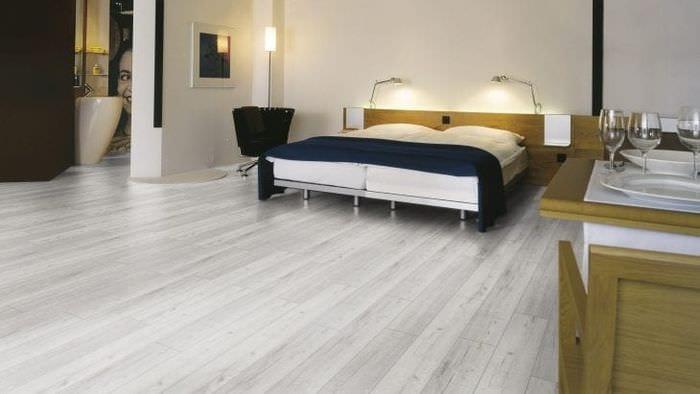 красивый белый дуб в стиле спальни