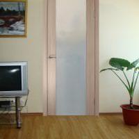 светлый белый дуб в интерьере кухни фото