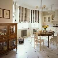 красивый интерьер кухни в английском стиле картинка