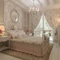 красивый интерьер квартиры в стиле шебби шик фото