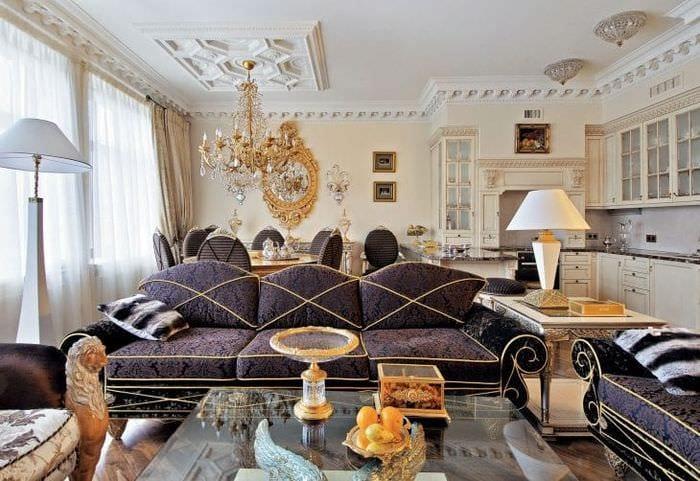 яркий стиль спальни в стиле эклектика