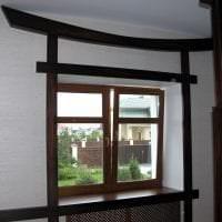красивый интерьере гостиной в японском стиле фото