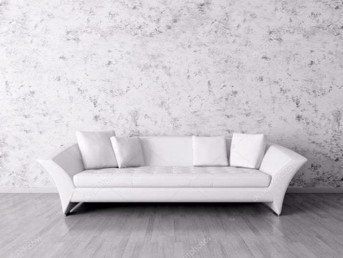 светлый диван в стиле комнаты