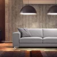 яркий диван в интерьере спальни фото