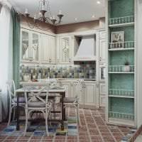 светлый diy дизайн кухни своими руками картинка