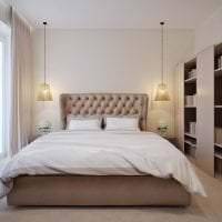 яркий дизайн гостиной в шоколадном цвете фото