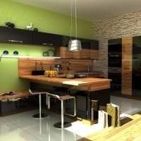 яркий дизайн кухни в этническом стиле фото