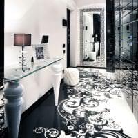 яркий дизайн кухни в белых тонах картинка