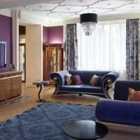 красивый интерьер дома в стиле деко арт картинка