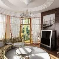 светлый стиль квартиры в стиле арт деко фото