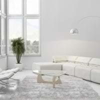 светлый интерьер прихожей в белом цвете фото