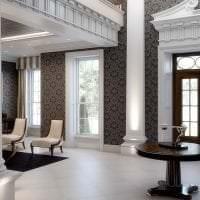 необычный дизайн гостиной в английском стиле фото