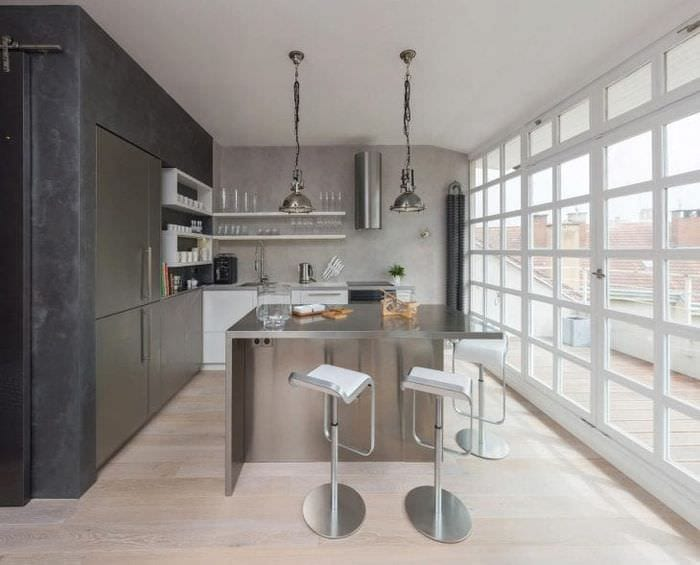 светлый дизайн квартиры в белых тонах